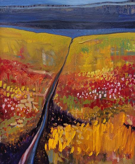 Autumn, East Coast - Framed Open Edition Print
