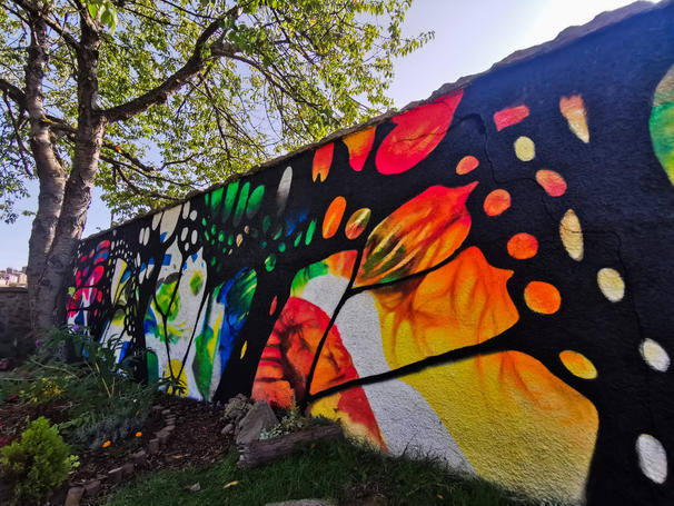 Bellfield Recovery Wall - Banchory