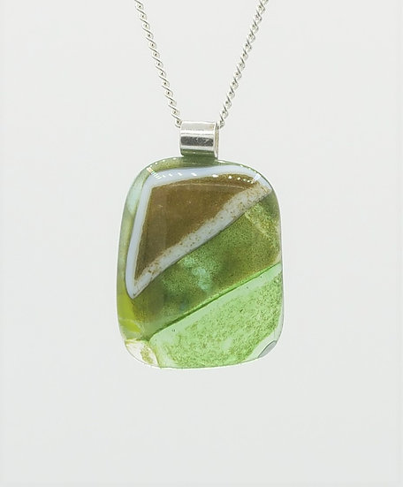 """Top Hill"" Pendant #8"
