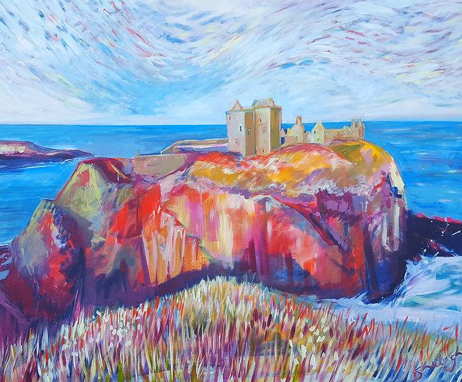 Limited Edition Giclee Print - Dunnottar Castle