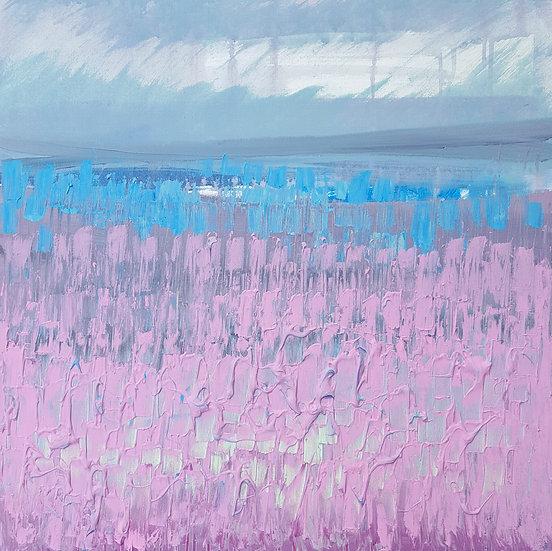 Northern Landscape Lilacs/Blues