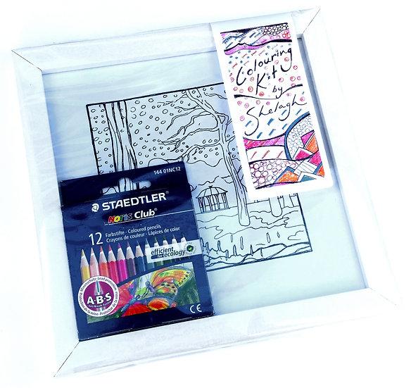 Duthie Park Colouring Kit