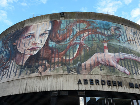 Nuart arrives in Aberdeen!