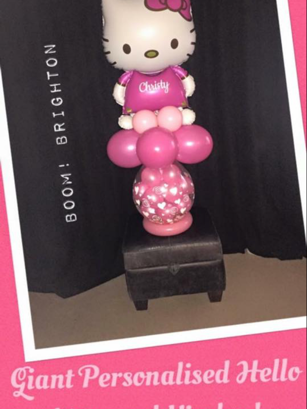 Super giant hello Kitty personalsied with Name!
