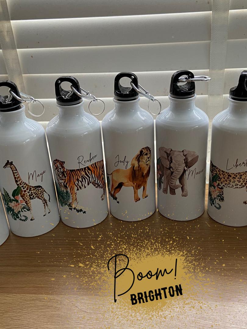 Hand Printed Personalised Bottles