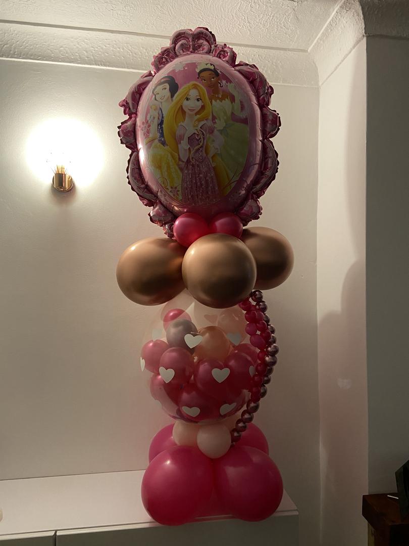Disney Princess chocolate filled balloon