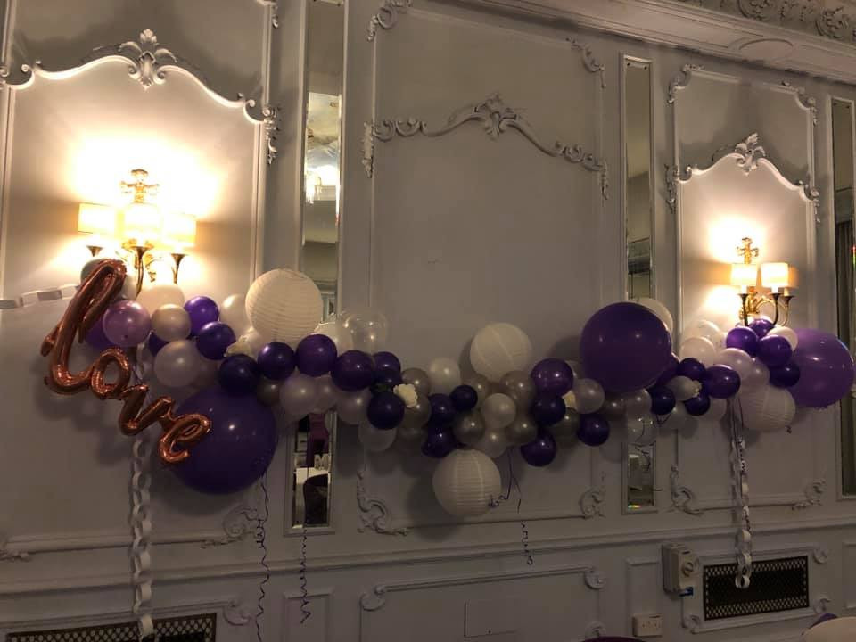 Garlands to the customers specification, we work with you to get exactly what you would like!