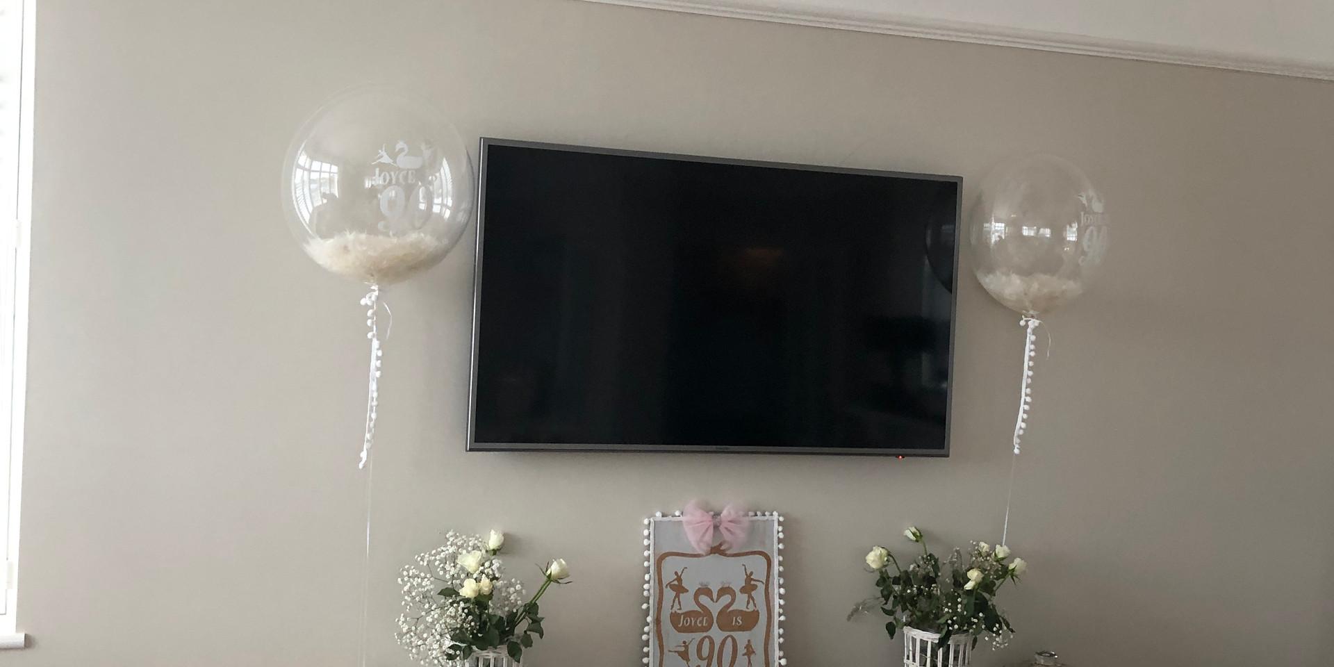 Bubbles make great decor