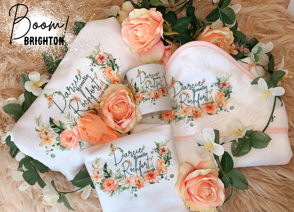 Hand printed Gift set
