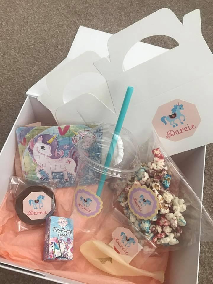 Completely bespoke Unicorn party set