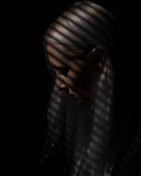 Shadow series (#contemplation) #portrait