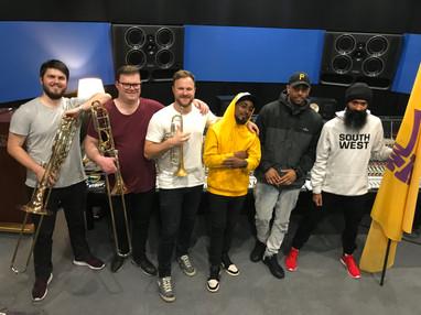 Recording Session: Sydney Kings