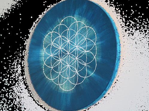 Flower Of Life LED Lamp (25cm)
