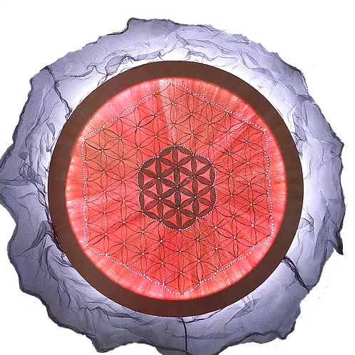 Flower Of Life LED Lamp (60cm)