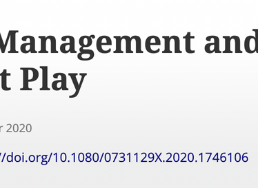New Public Management and the Police Profession at Play