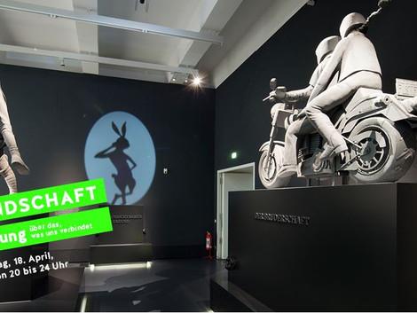 VORTRAG ÜBER FREUNDSCHAFT Eröffnung: Freundschaft - Ausstellung Deutsches Hygiene-Museum, Dresden