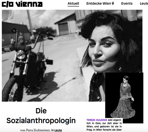 'The Social Anthropologist' - Interview with C/O Vienna Magazine