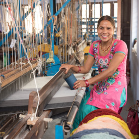 training handloom weavers