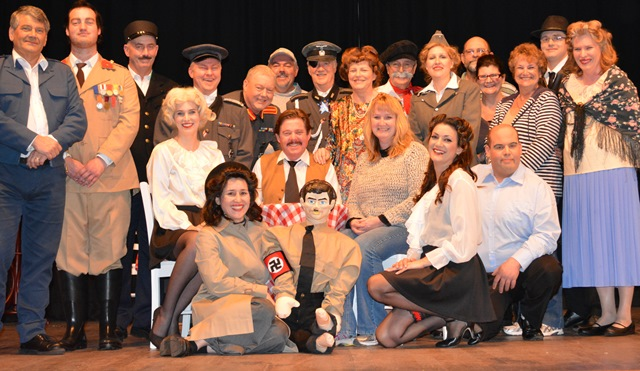 Allo Allo - Full cast shot from 2013