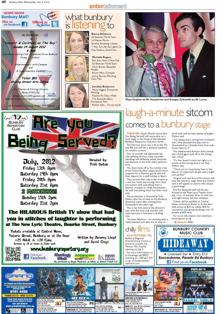 Bunbury Mail BRC