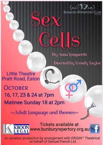 Bunbury Repertory Club - Sex Cells 2020.