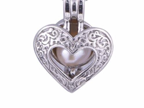 Vintage Heart Cage