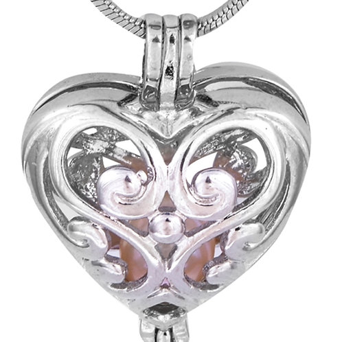 Heart With Designs Cage