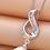 Thumbnail: Sterling Silver Baguette Style Pendant