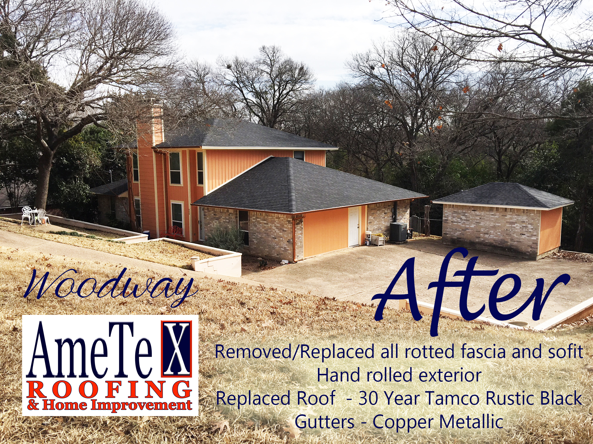 After Deer Ridge ametex roofing waco texas