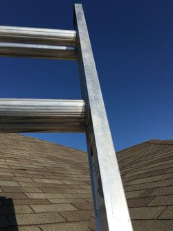 Ladder and Roof ametex roofing waco texas