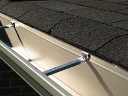 Aluminium Gutters by ametex roofing waco texas
