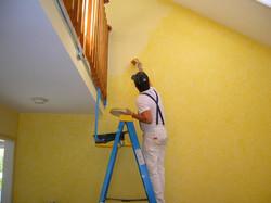 painters doing painting job ametex roofing waco texas