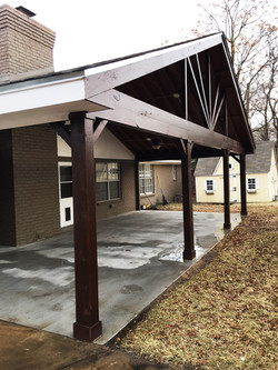 Porch design and repair ametex roofing waco texas