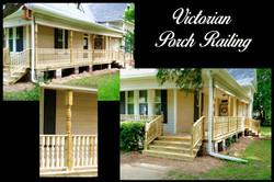 Victorian Porch Railing ametex roofing waco texas