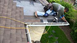 roofers doing roof job ametex roofing waco texas