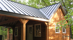 metal roof in a small house ametex roofing waco texas