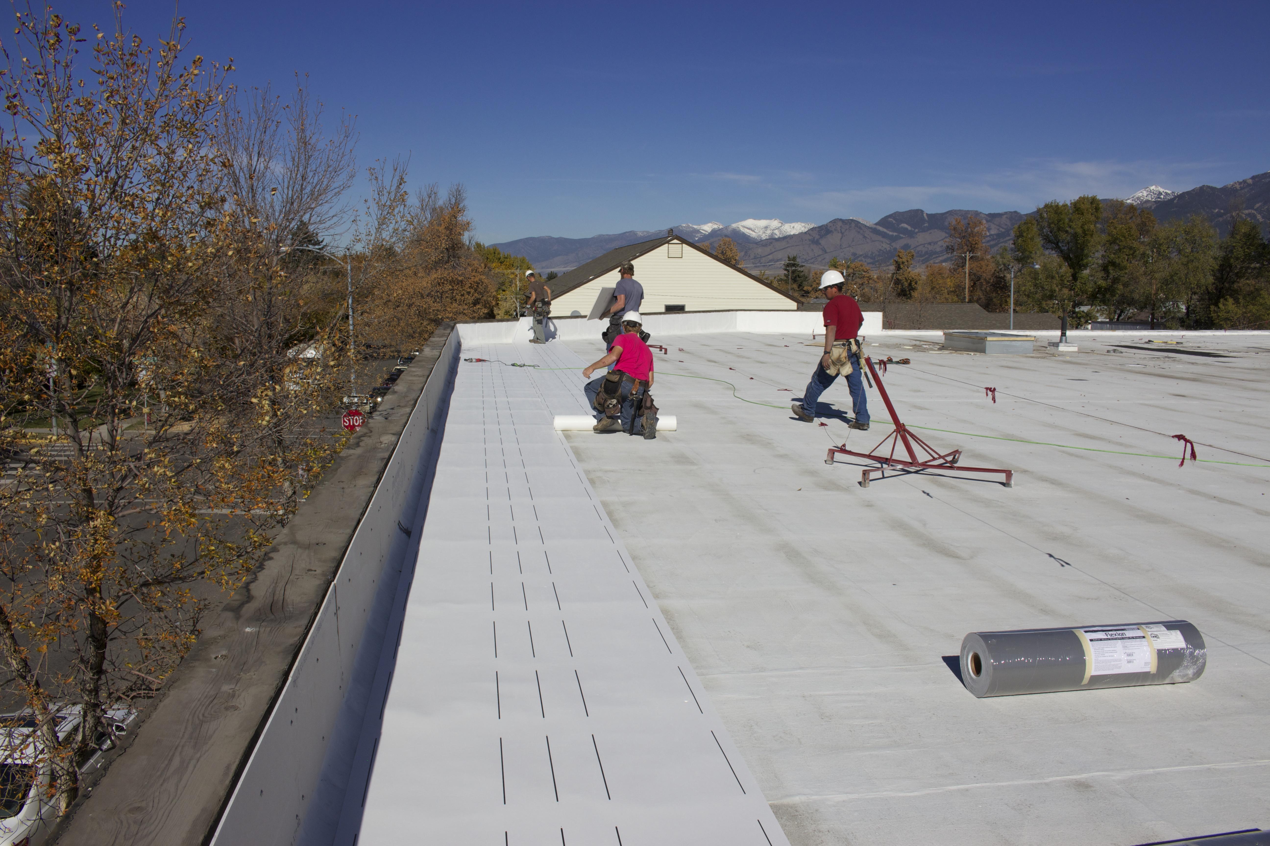 ametex roofing waco texas technicians on the job site