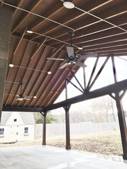 Porch job by ametex roofing waco texas