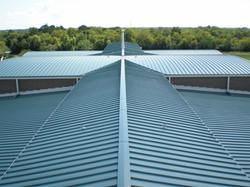 building metal roof by ametex roofing waco texas