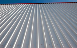 metal roof view by ametex roofing waco texas