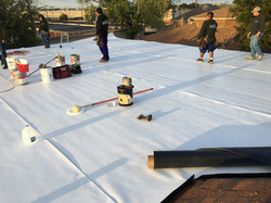 TPO job ametex roofing waco texas