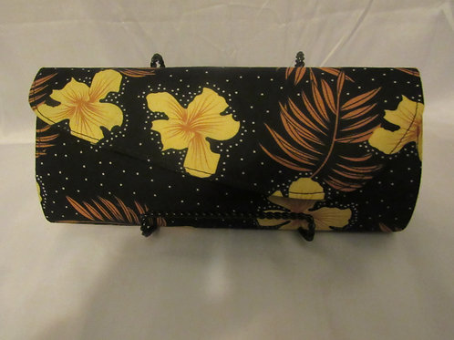 Clutch, Medium Black, Brown and Yellow