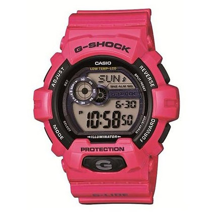 GLS-8900-4DR G-Shock - Digital All Pink/Black Highlight