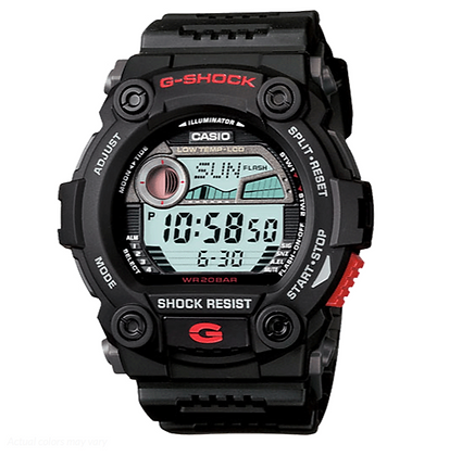 G-7900-1DR - Casio G-Shock Tide G-Lide