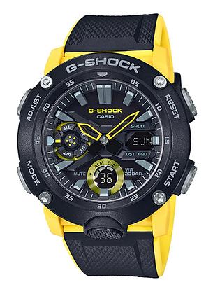 GA-2000-1A9DR - G-SHOCK - Carbon Core Guard Series - Black/Yellow
