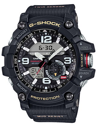GG-1000-1ADR All Black Twin Sensor Mudmaster
