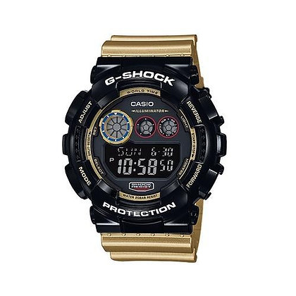 GD-120CS-1ADR G-Shock - Black and Gold Digital