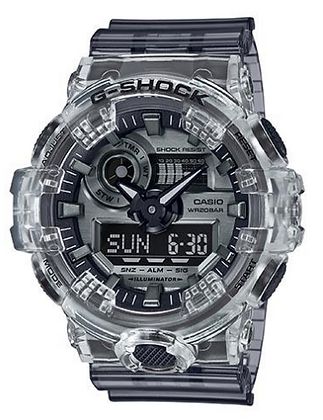 GA700SK-1ADR G-SHOCK | Limited Edition | G-Shock - Smoky Gray Translucent Duo