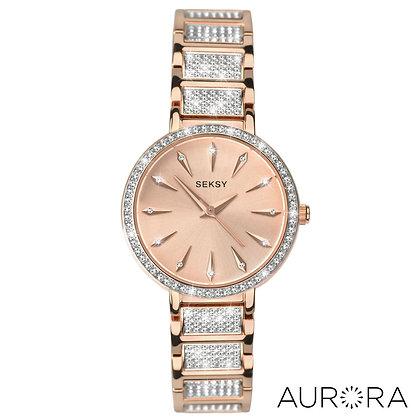 Seksy - Aurora Rose Gold w/Swarovski Crystals