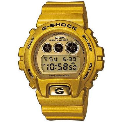 DW-6900GD-9DR G-Shock - All Gold Retro Digital